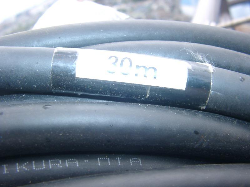 フジクラ 10D-FB ーLITE  30m同軸ケーブル 中古品 送料込み_画像5