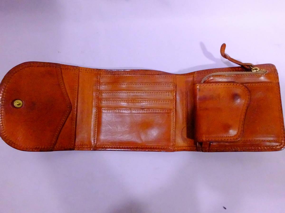 76_T730)【送料無料】コルボ CORBO -SLATE- スレートシリーズ 三つ折り財布_画像2