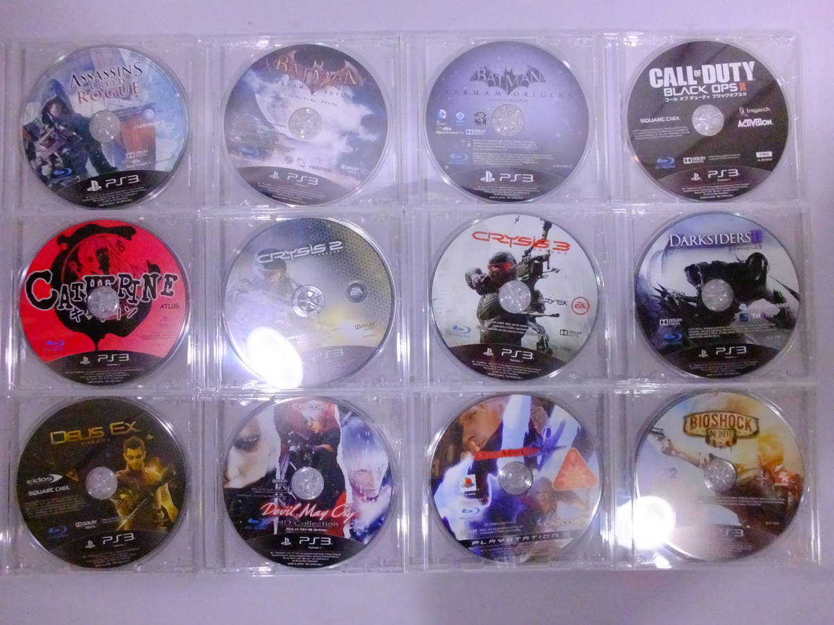22_K690)【送料無料】[ジャンク]PS3 プレイステーション3用ソフト ソフトのみ 70本セット! ダブリなし 大量 まとめ売り_画像3