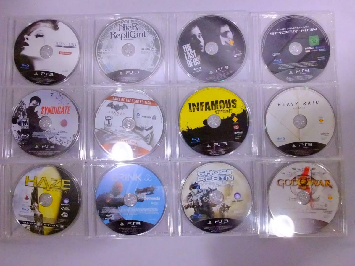 22_K690)【送料無料】[ジャンク]PS3 プレイステーション3用ソフト ソフトのみ 70本セット! ダブリなし 大量 まとめ売り