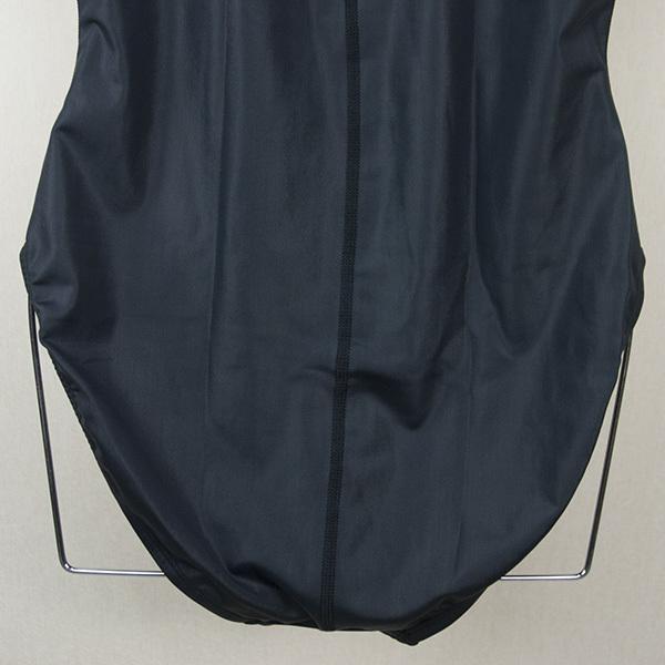 ffc7c8e94c5 2201☆NSA☆バックジッパー水球タイプ競泳水着(5XL)黒