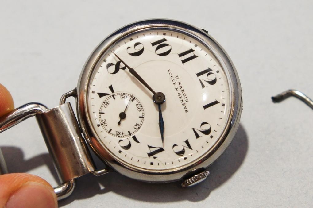 ユリスナルダン ヴィンテージ 腕時計(1531/ULYSSE NARDIN LOCLE&GENEVE/手巻き/機械式