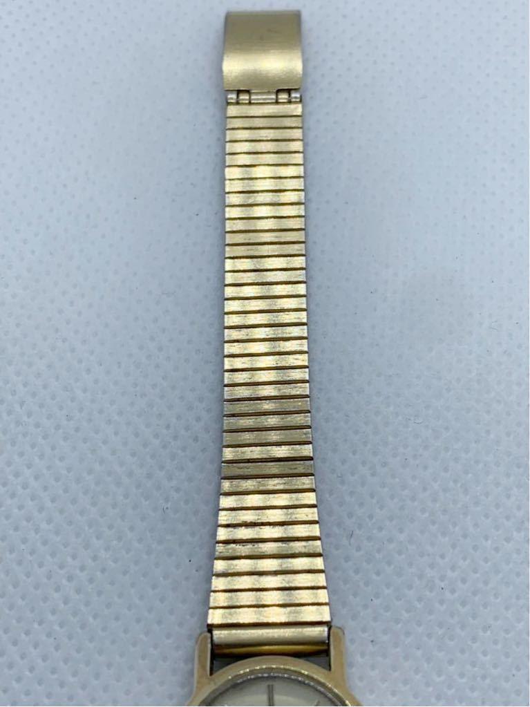 1円~ 最落なし OMEGA オメガ Genve ジュネーブ アンティーク 手巻き ゴールドダイヤル オーバル型 レディース 腕時計 ジャンク品_画像7