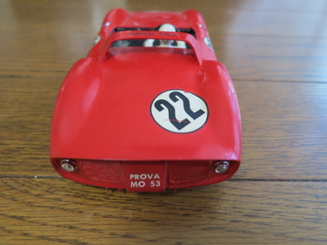 monogram models inc スロットカー フェラーリ 330P モーター2個付き_画像4