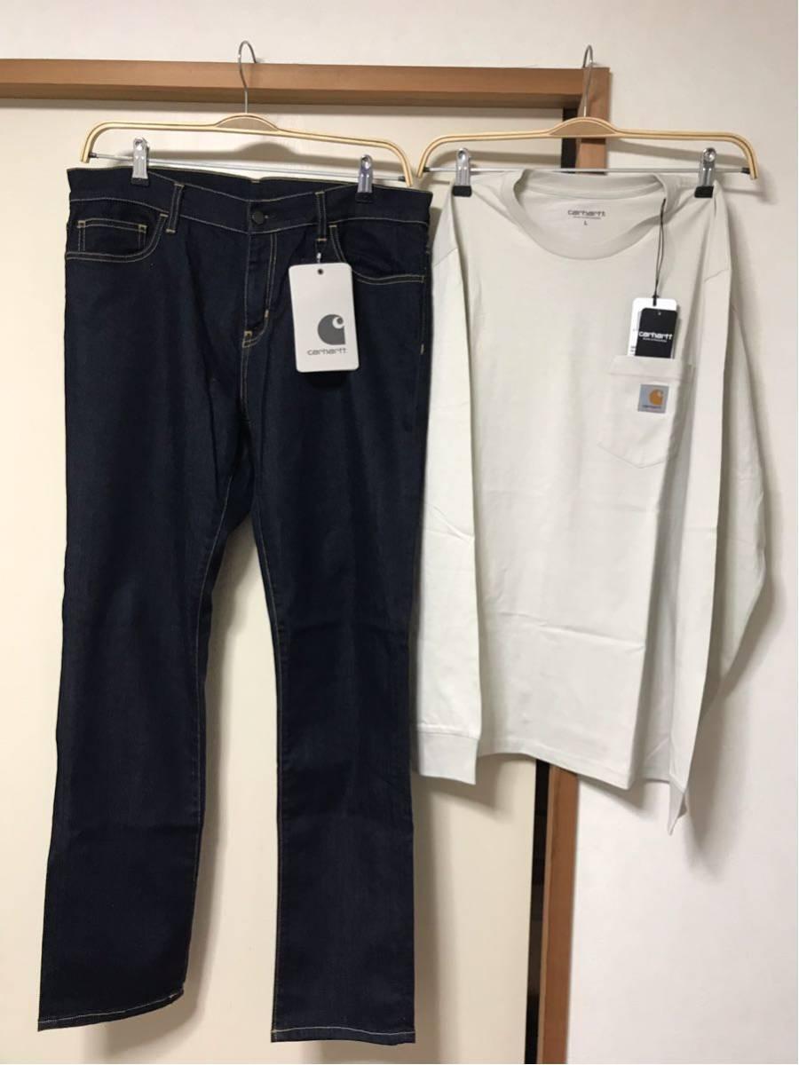 CARHART WIP カーハート デニムパンツ ロングTシャツ