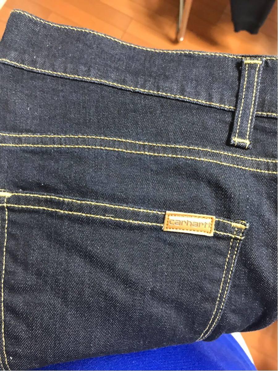 CARHART WIP カーハート デニムパンツ ロングTシャツ_画像4