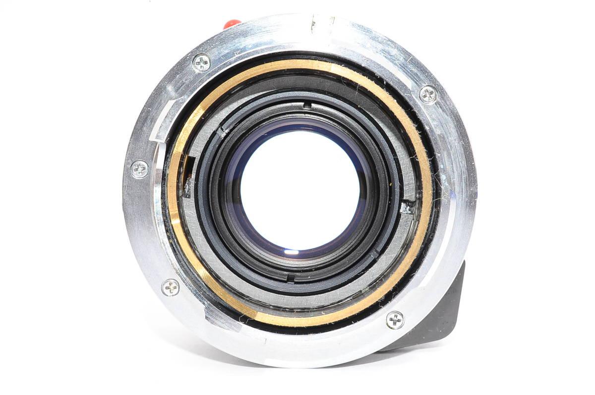 【極上品】 ミノルタ M ロッコール MINOLTA M-ROKKOR 40mm F2 マニュアルフォーカス / MF 一眼レンズ [2024285]_画像3