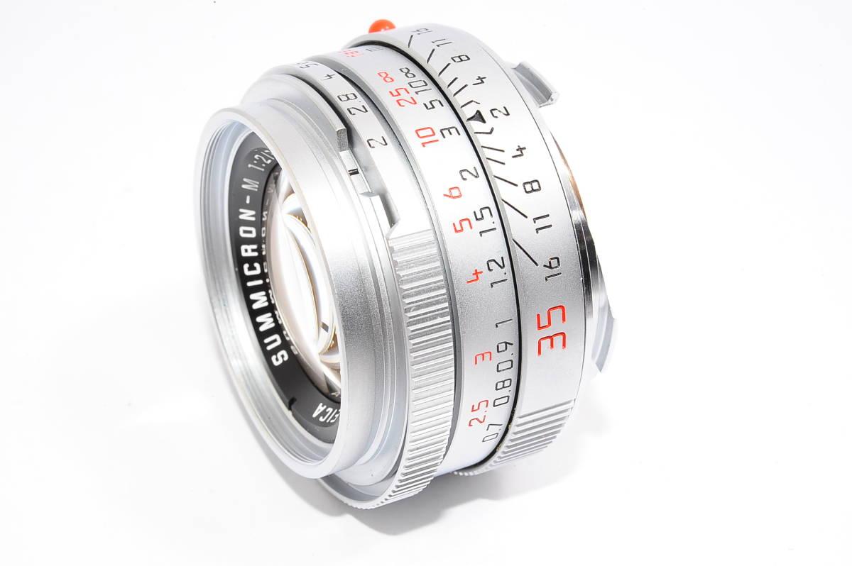 【美品】 ライカ ズミクロン LEICA SUMMICRON-M 35mm F2 E39 ドイツ製 [3640374]_画像2