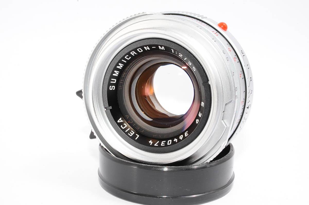 【美品】 ライカ ズミクロン LEICA SUMMICRON-M 35mm F2 E39 ドイツ製 [3640374]
