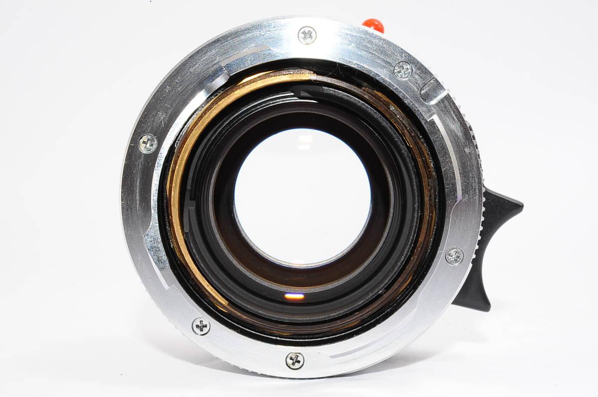 【美品】 ライカ ズミクロン LEICA SUMMICRON-M 35mm F2 E39 ドイツ製 [3640374]_画像3