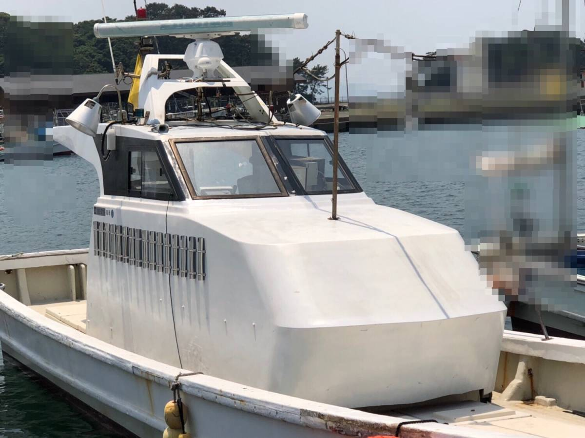 希少船 SSボート 52ft ヤンマーエンジンO/H後 ペラ新品交換後 100時間程度 新品GPS 新品ロッドホルダー ソナー オーパイ 早い者勝ち