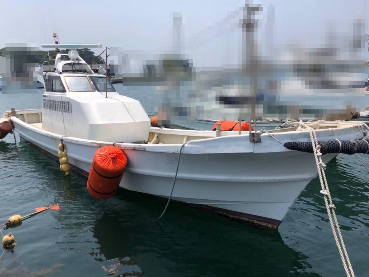 希少船 SSボート 52ft ヤンマーエンジンO/H後 ペラ新品交換後 100時間程度 新品GPS 新品ロッドホルダー ソナー オーパイ 早い者勝ち _画像2