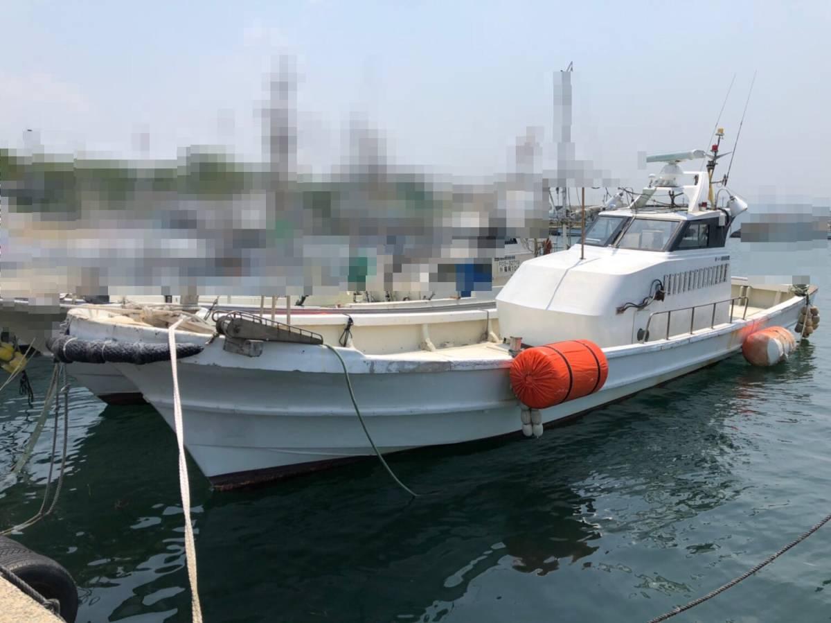 希少船 SSボート 52ft ヤンマーエンジンO/H後 ペラ新品交換後 100時間程度 新品GPS 新品ロッドホルダー ソナー オーパイ 早い者勝ち _画像3