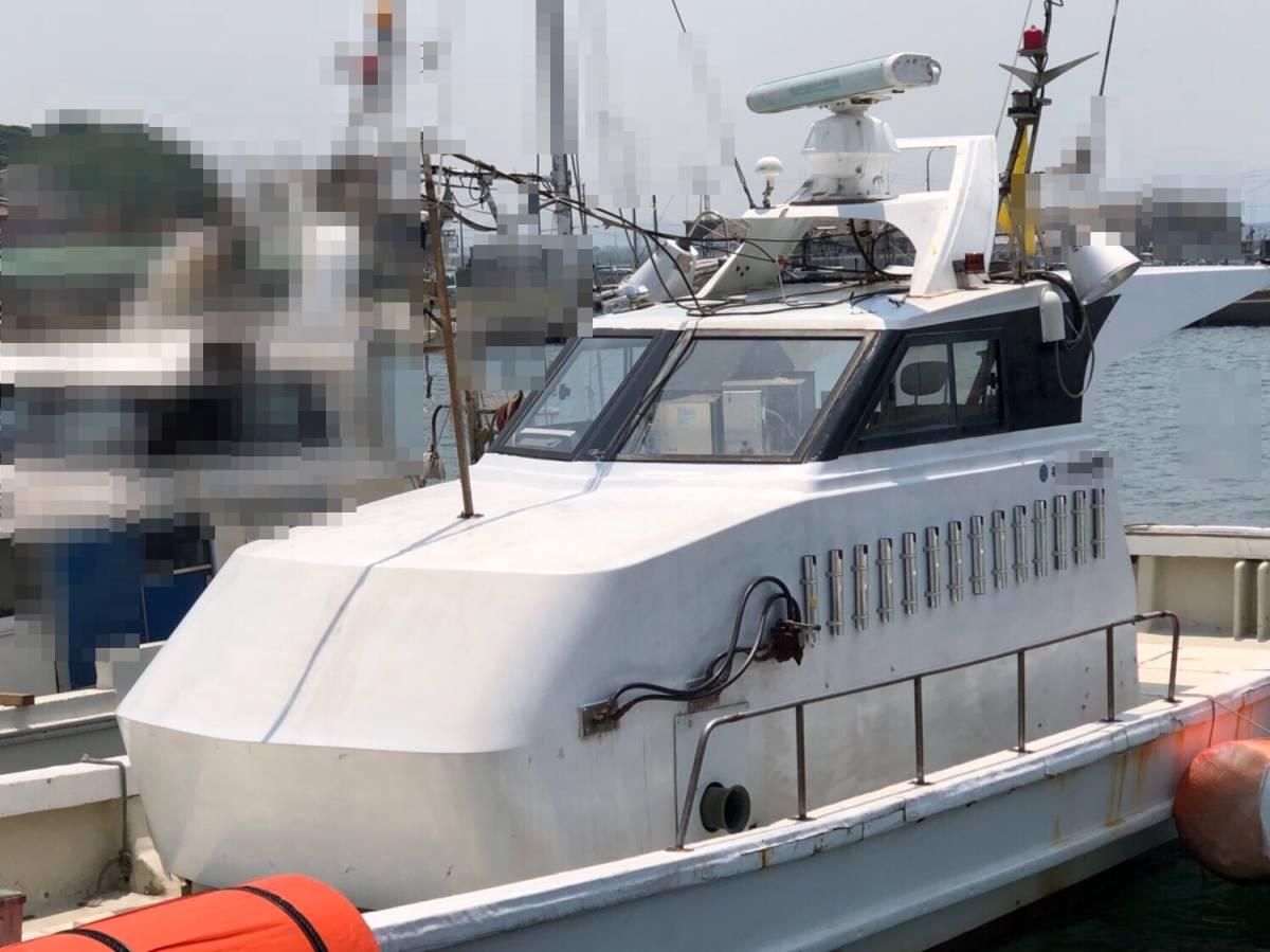 希少船 SSボート 52ft ヤンマーエンジンO/H後 ペラ新品交換後 100時間程度 新品GPS 新品ロッドホルダー ソナー オーパイ 早い者勝ち _画像4