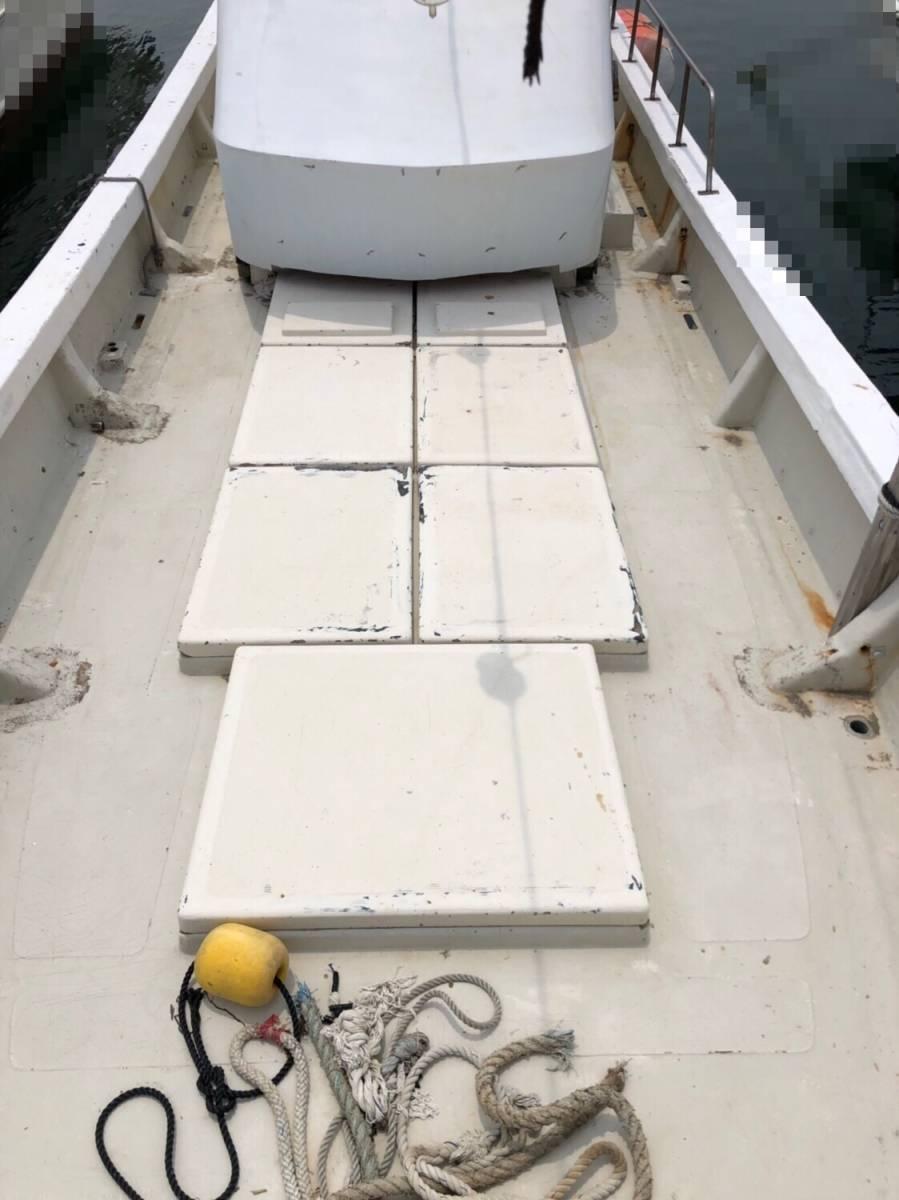 希少船 SSボート 52ft ヤンマーエンジンO/H後 ペラ新品交換後 100時間程度 新品GPS 新品ロッドホルダー ソナー オーパイ 早い者勝ち _画像9