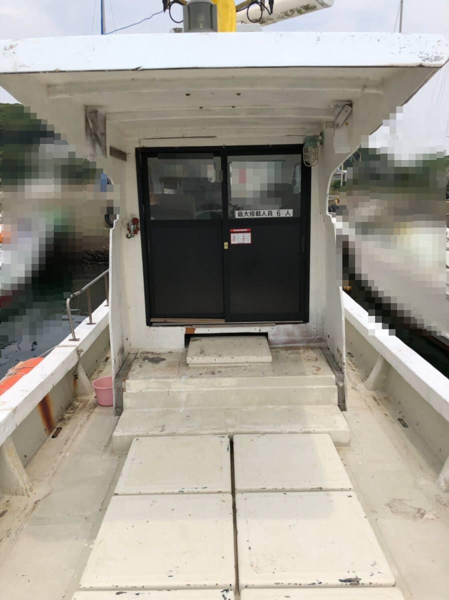 希少船 SSボート 52ft ヤンマーエンジンO/H後 ペラ新品交換後 100時間程度 新品GPS 新品ロッドホルダー ソナー オーパイ 早い者勝ち _画像10