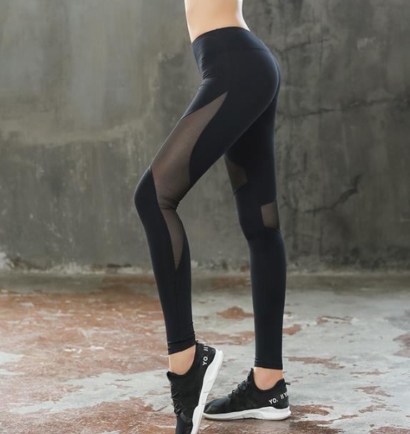 レディーズ 吸汗速乾 ジョギング トレーニング フィットネスパンツヨガウェア