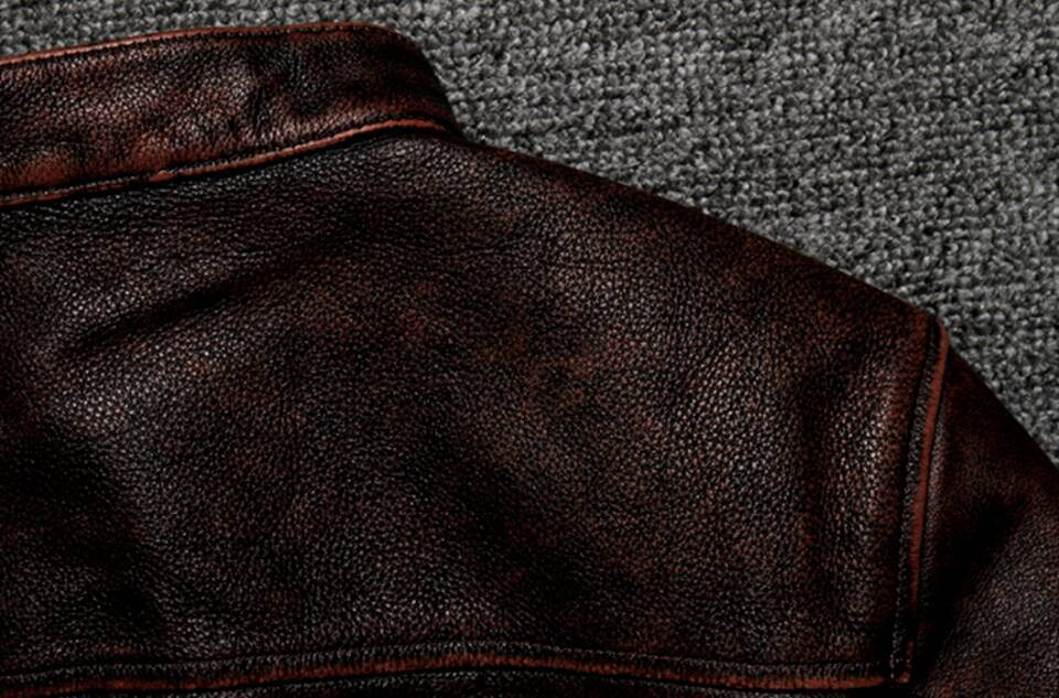 高級感満載*高品質★上層牛革100% マンズ  レザージャケット メンズレザーウェア レザージャケット サイズ選択可_画像7