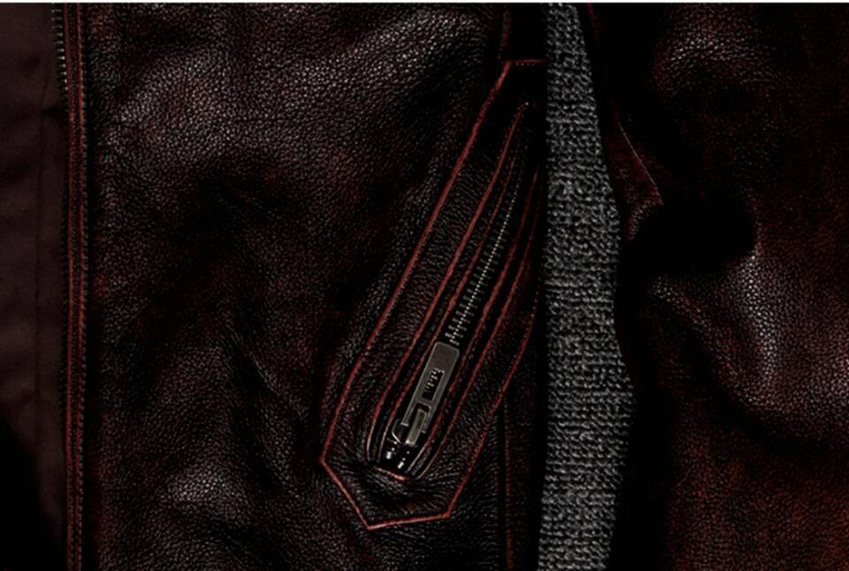 高級感満載*高品質★上層牛革100% マンズ  レザージャケット メンズレザーウェア レザージャケット サイズ選択可_画像5
