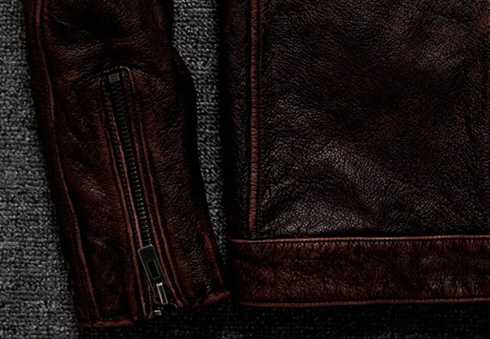 高級感満載*高品質★上層牛革100% マンズ  レザージャケット メンズレザーウェア レザージャケット サイズ選択可_画像9