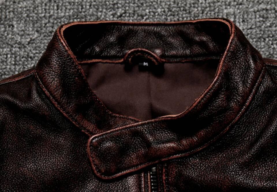 高級感満載*高品質★上層牛革100% マンズ  レザージャケット メンズレザーウェア レザージャケット サイズ選択可_画像4