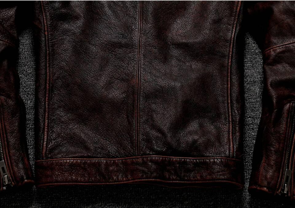 高級感満載*高品質★上層牛革100% マンズ  レザージャケット メンズレザーウェア レザージャケット サイズ選択可_画像8