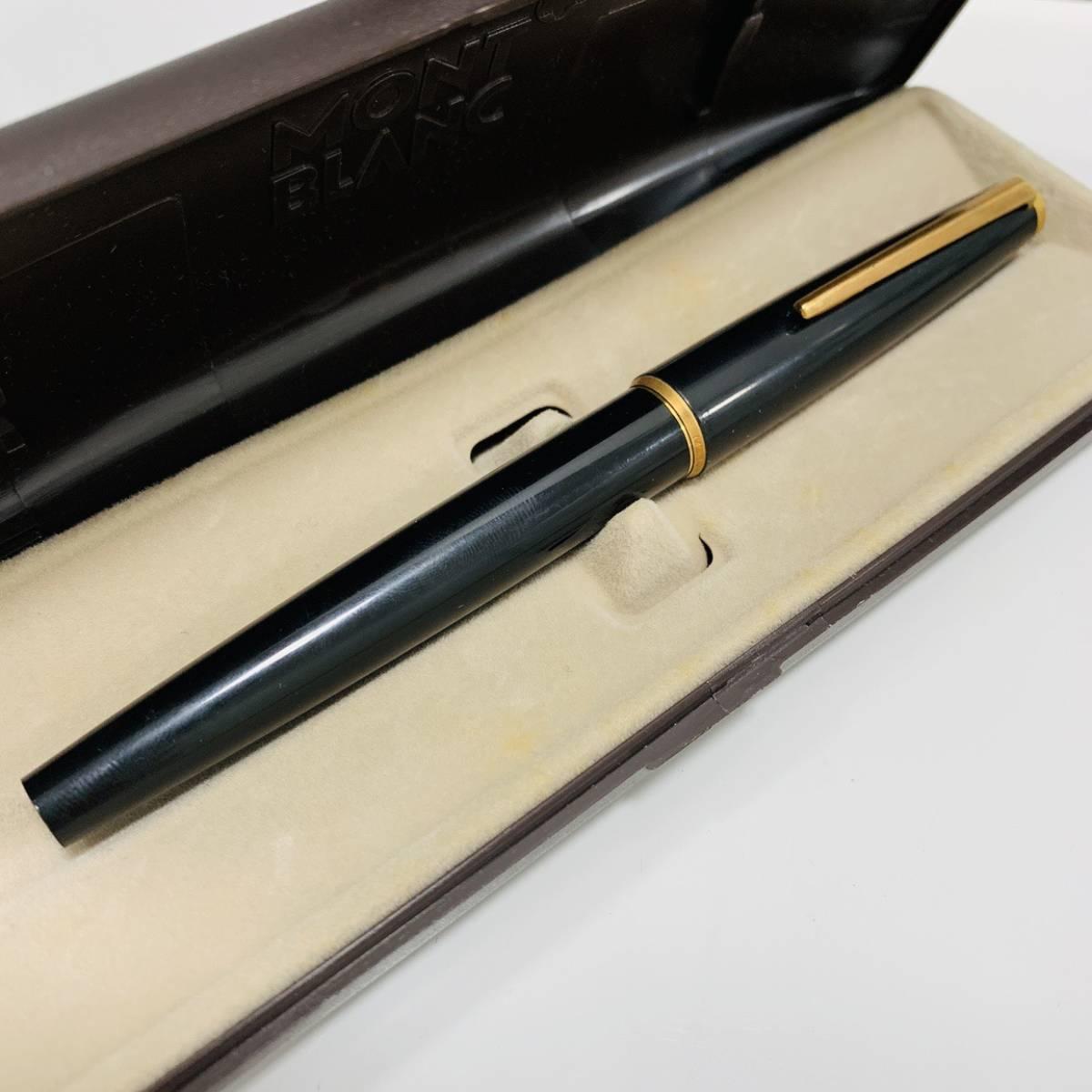 【3411】 高級 MONTBLANC モンブラン 万年筆 インクカートリッジ付き ジャイアントリフィール ボールペン用替芯付き_画像2