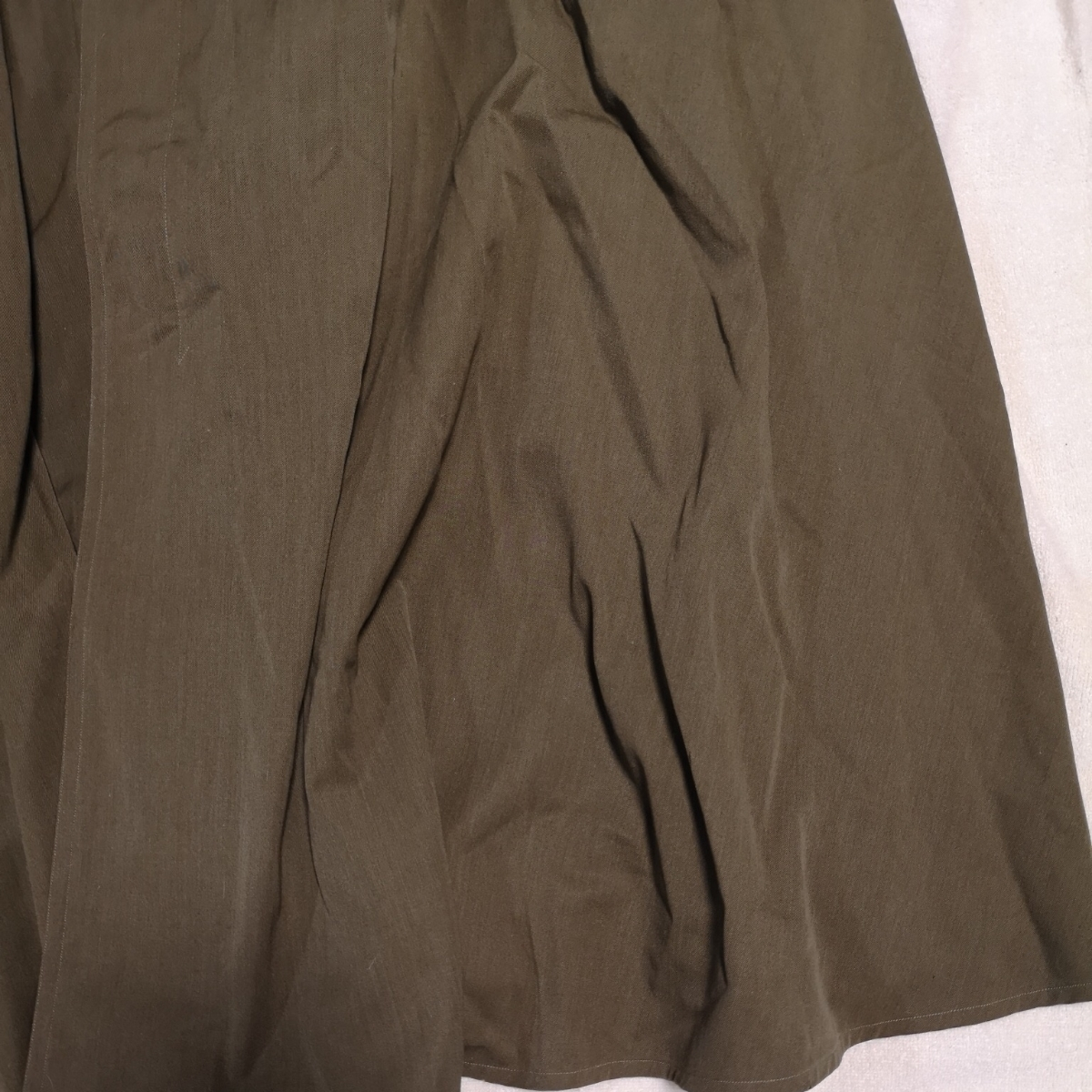 日本軍 将校マント 少尉 外套 襟章付き 戦前 洋品店仕立 軍服_画像4
