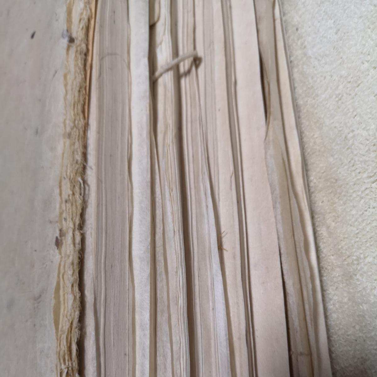 戦前 和紙 大量 約1.6キロ 紙質色々 半紙_画像9