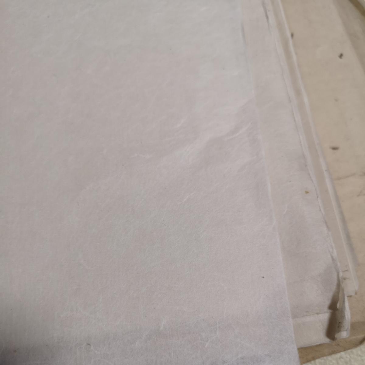 戦前 和紙 大量 約1.6キロ 紙質色々 半紙_画像5