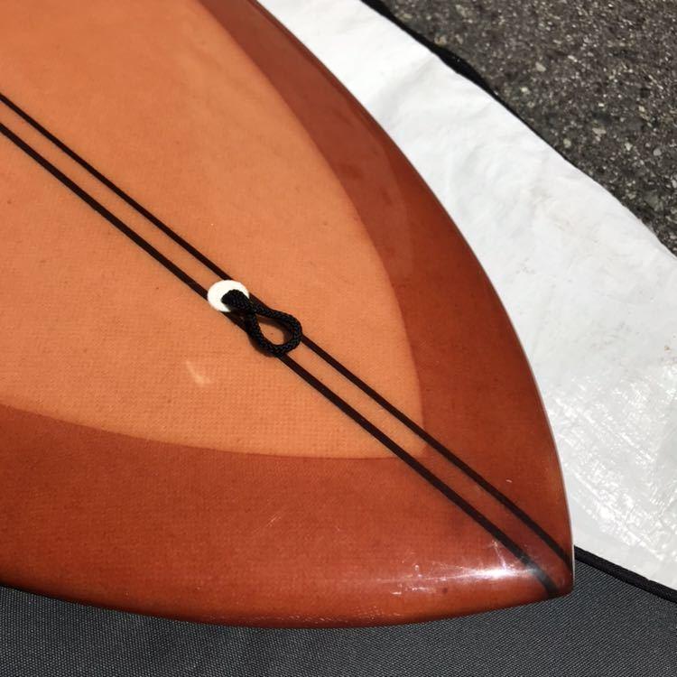 アーモンドサーフボード almond surfboards JOY ファンボード 7'7 ロングボード シングルフィン_画像7