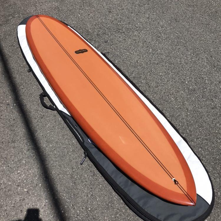 アーモンドサーフボード almond surfboards JOY ファンボード 7'7 ロングボード シングルフィン_画像1