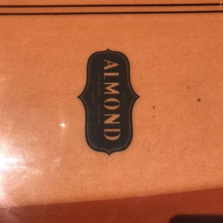 アーモンドサーフボード almond surfboards JOY ファンボード 7'7 ロングボード シングルフィン_画像8