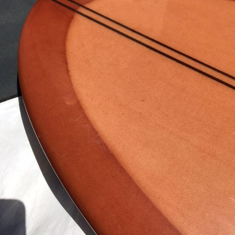 アーモンドサーフボード almond surfboards JOY ファンボード 7'7 ロングボード シングルフィン_画像3