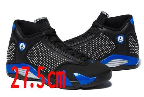 【国内新品】【27.5cm】 Supreme Nike Air Jordan XIV (black) US 9 1/2 (27.5cm) シュプリーム ジョーダン ナイキ_画像1