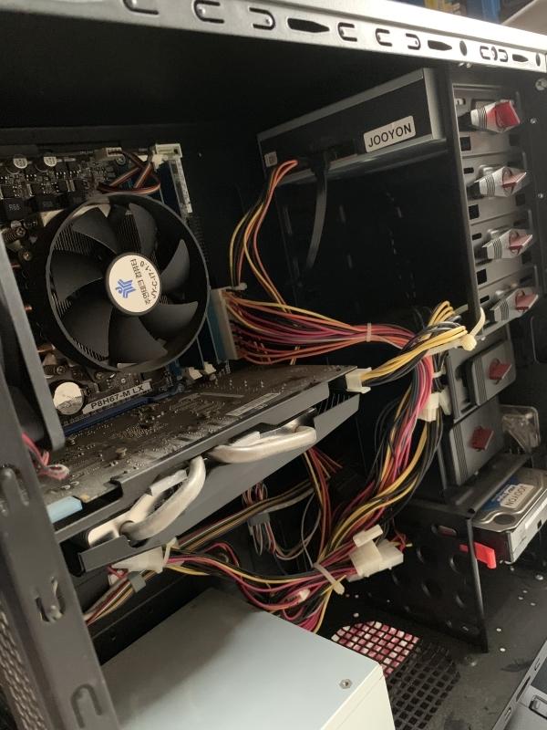 アプライド 自作パソコン i7-2600S 2.8GHz 16GB 1TB DVDマルチ WIN10 デスクトップ パソコン_画像4