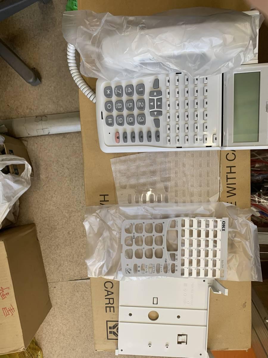 【未使用】OKI IP30ボタン多機能電話機 DI2166【MKT/IP-30DKWHF-V2】10台入り_画像5