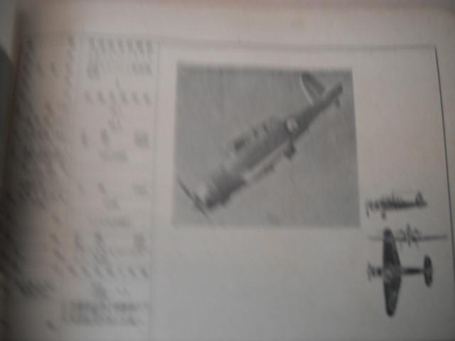 日米英飛行機便覧 参謀本部 極秘 印 性能概要 写真  海軍 陸軍 P40カーチス スピットファイア B19 ホーカーハリケーン_画像7