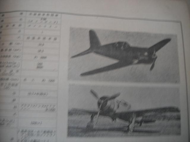 日米英飛行機便覧 参謀本部 極秘 印 性能概要 写真  海軍 陸軍 P40カーチス スピットファイア B19 ホーカーハリケーン_画像9