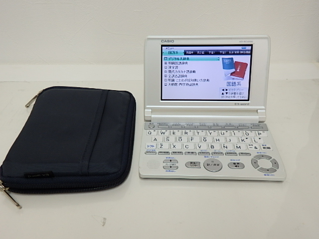 美品 CASIO カシオ 電子辞書 EX-word XD-SC4100 『安心動作保証』_画像1