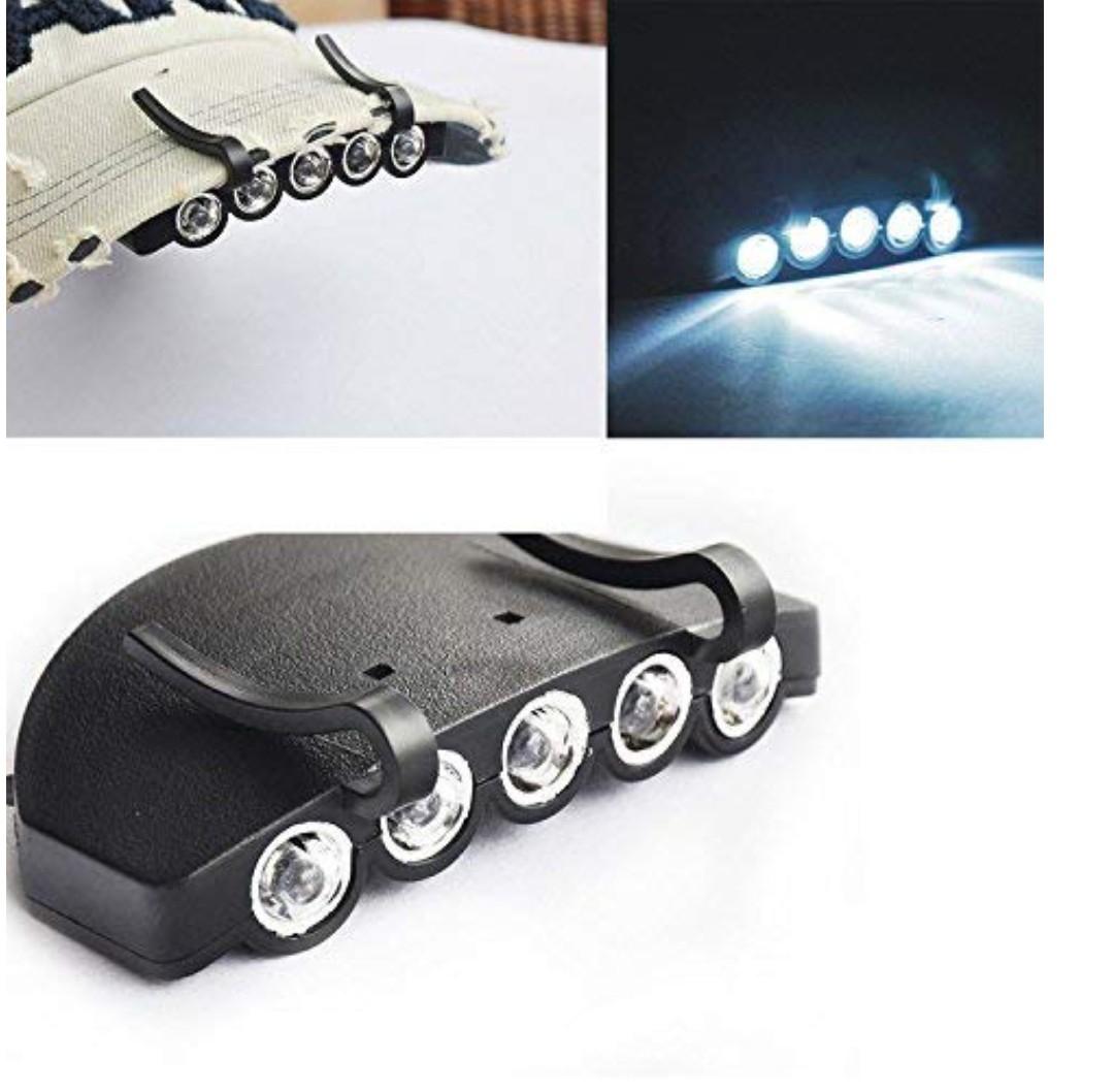 LEDヘッドライト キャップライト ★キャンプや夜釣りや登山に便利!★_画像2