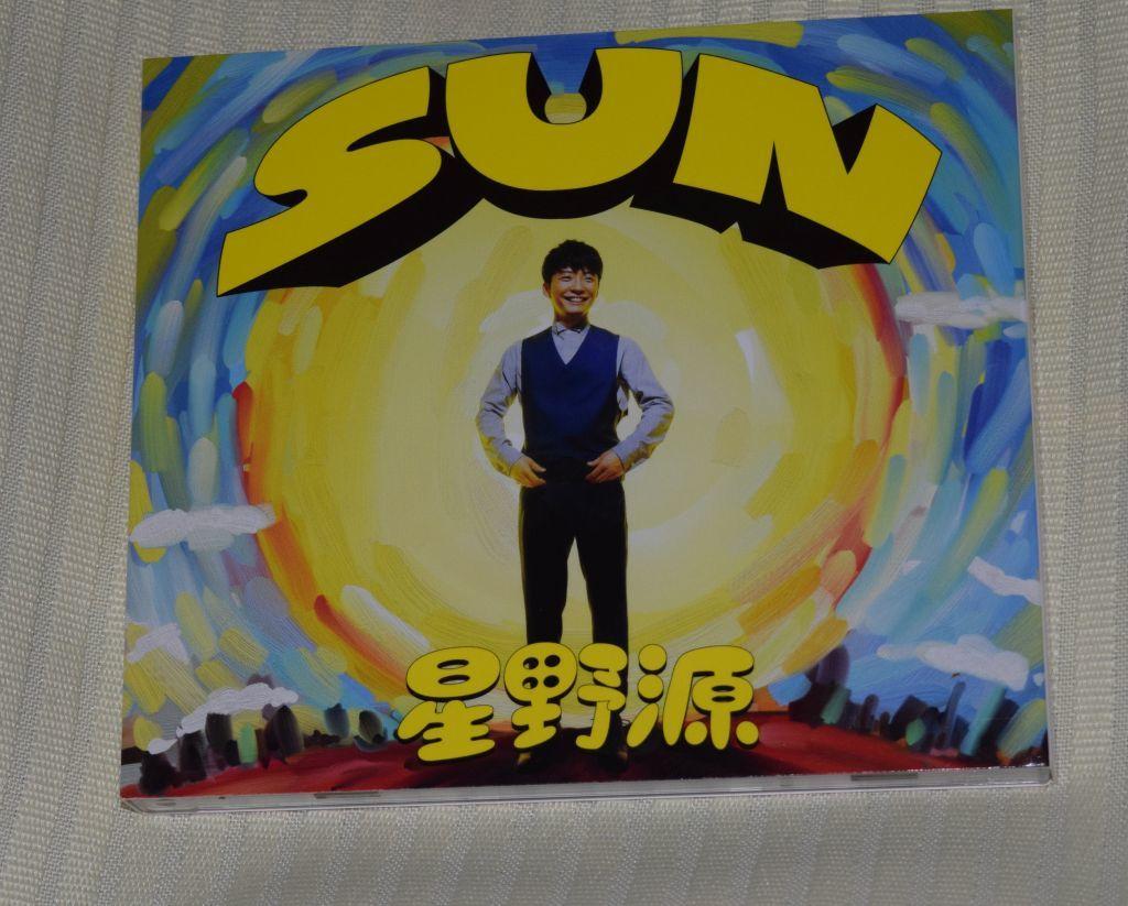 星野源 SUN(初回限定盤) シングル, CD+DVD, 限定版  中古
