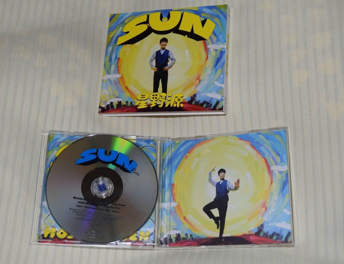 星野源 SUN(初回限定盤) シングル, CD+DVD, 限定版  中古_画像4