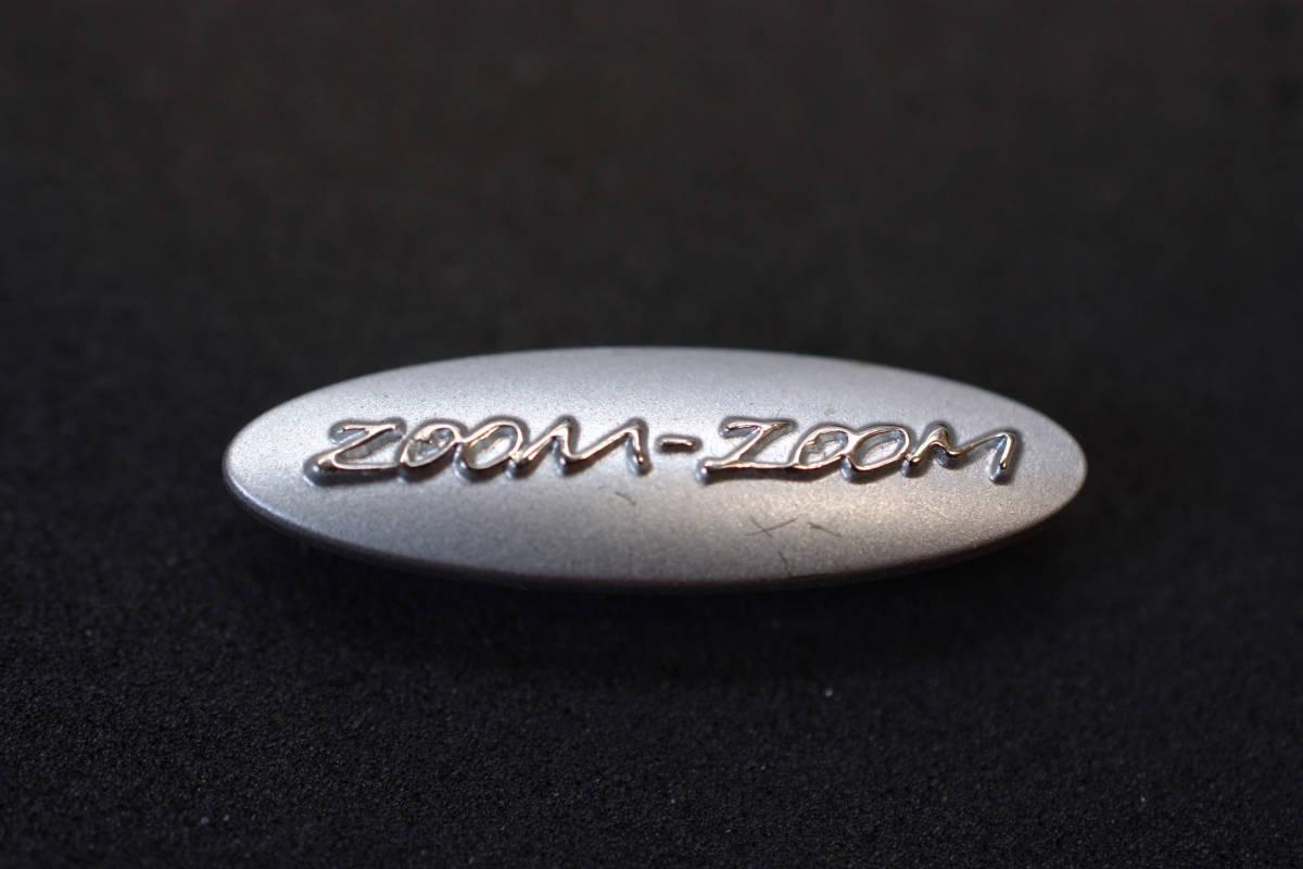 □ MAZDA マツダ ピンバッジ zoom-zoom 30mm デミオ アクセラ アテンザ rcitys CX-8 CX-5 CX-3ロードスター RX-8 RX-7 FD3S Limited1_W=30mm