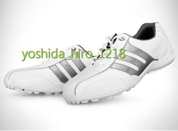 新品 ゴルフシューズ 極細繊維合成革 メンズ 防水 通気性良い スパイクレス 丈夫 メンズシューズ サイズ選択可 HW-58