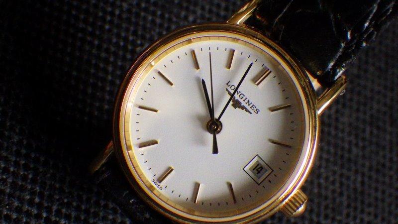 ★ LONGINES ロンジン 【 L4.220.2 】ゴールド レディース クォーツ腕時計★美品