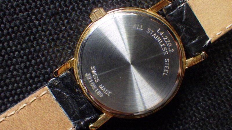 ★ LONGINES ロンジン 【 L4.220.2 】ゴールド レディース クォーツ腕時計★美品_画像2