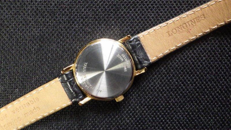★ LONGINES ロンジン 【 L4.220.2 】ゴールド レディース クォーツ腕時計★美品_画像5