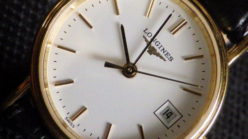 ★ LONGINES ロンジン 【 L4.220.2 】ゴールド レディース クォーツ腕時計★美品_画像10