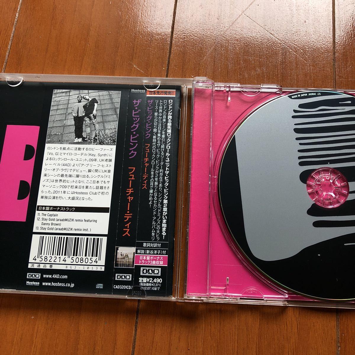 big pink CD二枚セット ビッグピンク_画像6